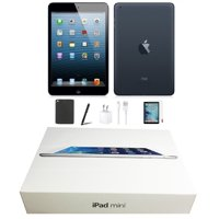 Open Box | Apple iPad Mini | 64GB Black | Wi-Fi Only | Bundle: Tempered Glass, Case, Charger & Stylus Pen comes in Original Packaging