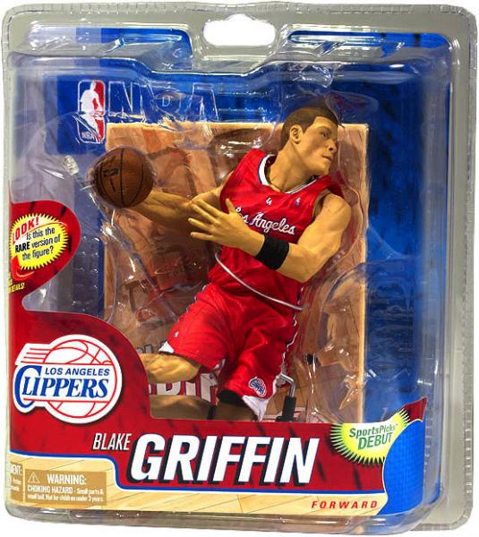 McFarlane NBA Sports Picks Series 20 Blake Griffin Action Figure