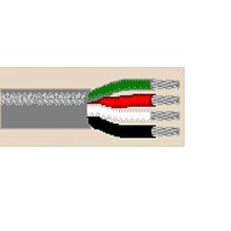 9444 1500Ft 20 Awg 4C Stranded Non Shielded Communications And Control Cable Cmg Ft4   Chrome Belden