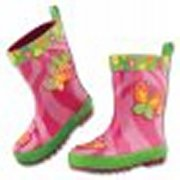 Butterfly Rainboots Size 9 by Stephen Joseph - SJ8801-25A-09