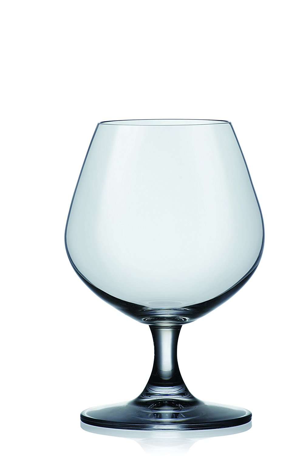 Crystalex Bolero Brandy Snifter Glasses, Classic Design, 14-Ounce, Set of 6 by