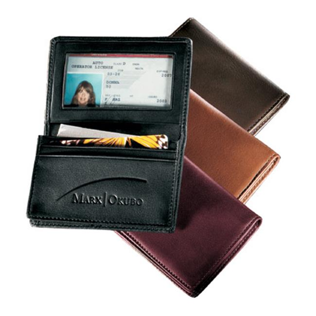 Andrew Philips AP1520GL Deluxe Gusseted Business Card Case