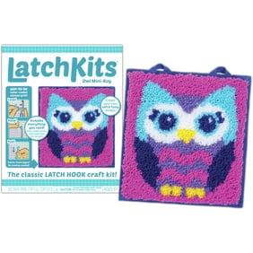 Colorbok Latch Hook Pillow Kit Flower Design Walmart Com Walmart Com