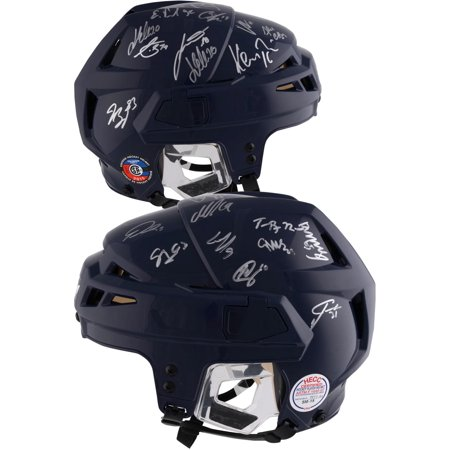 7f42eb12fdd Washington Capitals 2018 Stanley Cup Champions Autographed Alex Ovechkin  Navy Game Model CCM Helmet with 24
