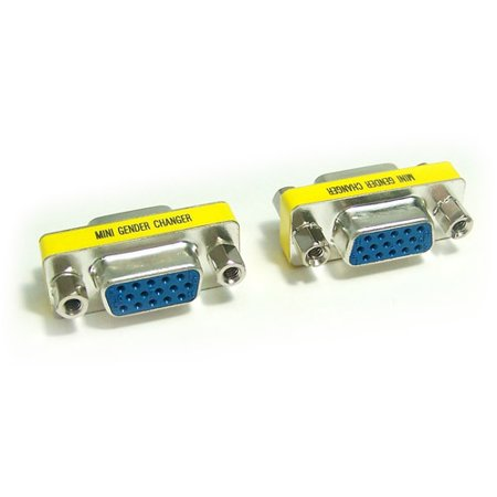 Micro Connectors Gender Changer Vga Hd15 Female To Female