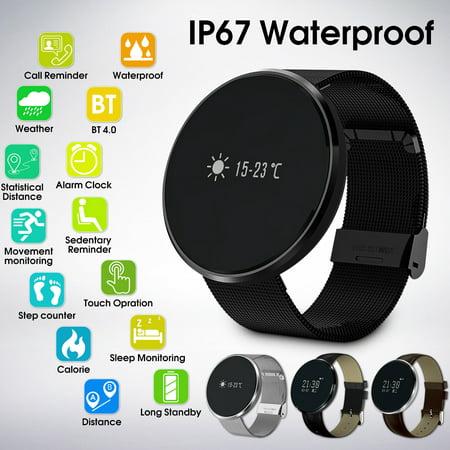 - Grtsunsea Waterproof SmartWatch Blood Pressure Heart Rate Bracelet Intelligent For Smartphone Cellphone