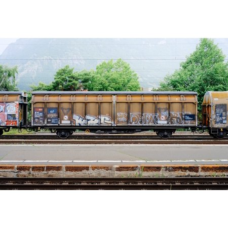 - LAMINATED POSTER Train Iron Coal Steel Carry Industrial Load Poster Print 24 x 36