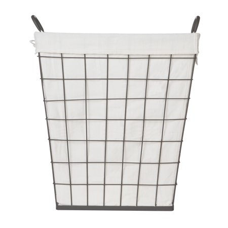 Better Homes & Gardens Wire Clothes Hamper with Liner