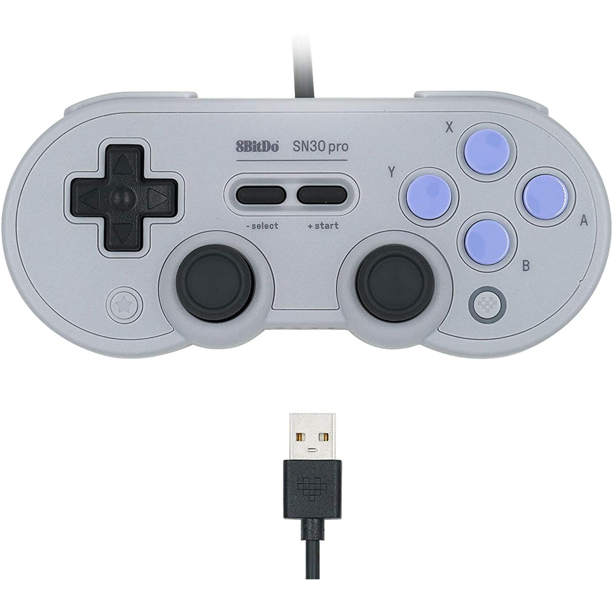 Mcbazel 8bitdo Sn30 Pro Usb Gamepad For Nintendo Switch Windows Raspberry Pi Sn Edition With Pouch Walmart Canada