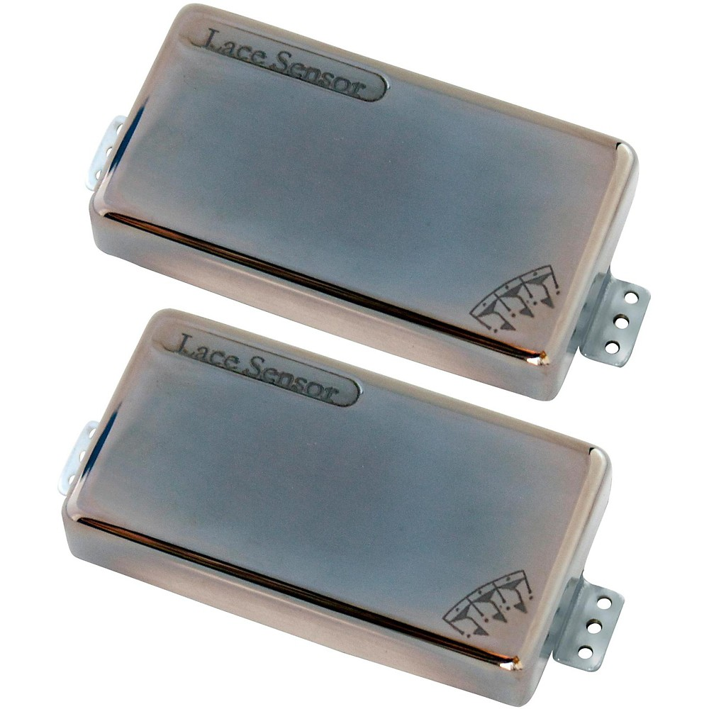 Lace Brent Hinds' Signature Hammer Claws Guitar Pickup Set Smoked Chrome by Lace