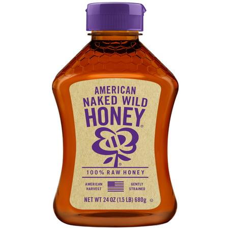 American Honey Whiskey - Naked Wild Honey, American Raw Honey, 24 oz