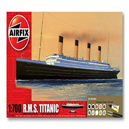 Airfix R.M.S. Titanic Gift Set (1:700 Scale) (Airfix Models)
