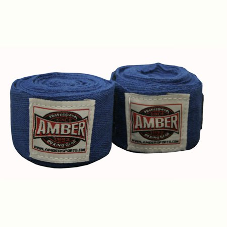 """Image of 120"""" Junior Regular Cotton Handwraps Blue"""
