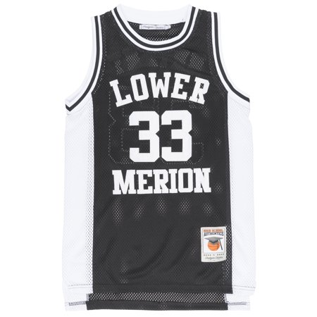 sale retailer 9851e 1119e Headgear Kobe Bryant Lower Merion HS Replica Jersey Basketball Mesh Mens  Black