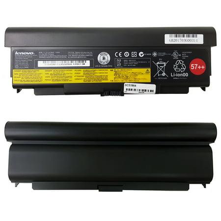 (New) Lenovo Original OEM Genuine 9 Cell 57++ Laptop Battery for Thinkpad T440p T540p W540 W541 L440 L540 11.1V 8510mAh 100Wh 45N1152 45N1153 0C52864