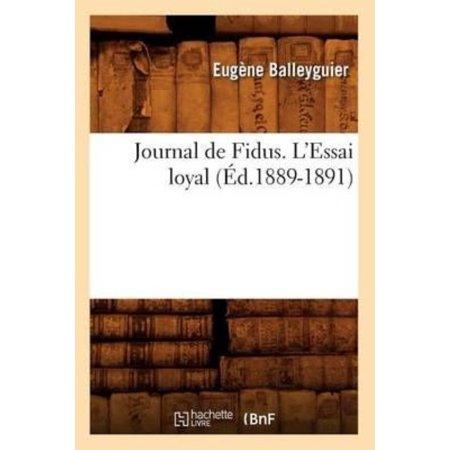 Journal De Fidus  Lessai Loyal
