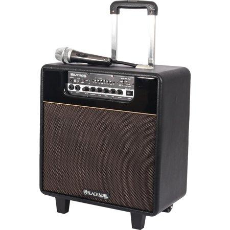 Samson BRS-2008 Bluetooth Instrument Amplifier Spkr Rechargeable Mp3 Player Portable