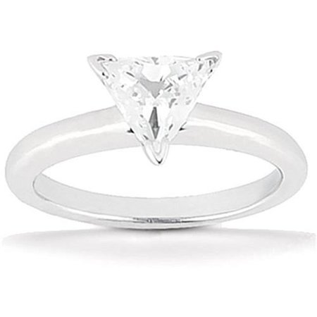 Harry Chad HC11738 1.51 CT White Gold Diamond Solitaire Ring, Color F - VS1 Clarity - image 1 of 1