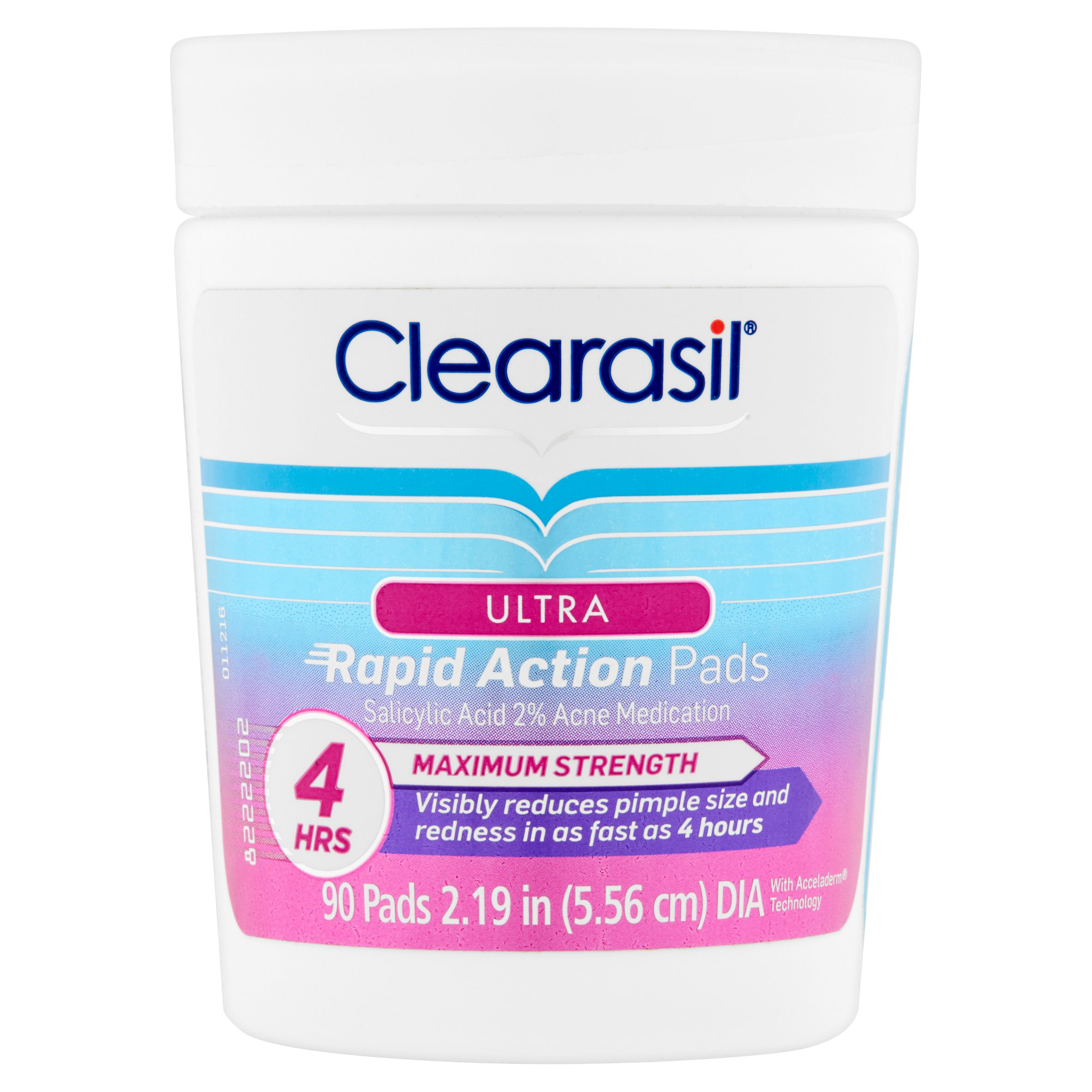 Clearasil Maximum Strength Ultra Rapid Action Pads, 90 count