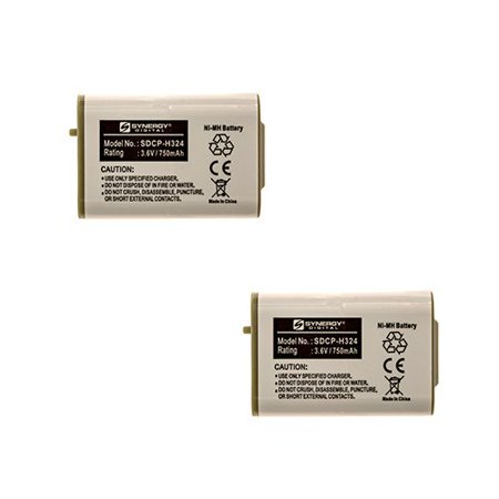 Lenmar CBO103 Cordless Phone Battery Combo-Pack includes: 2 x SDCP-H324 Batteries