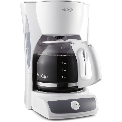 12-Cup Coffee Maker Mr. Coffee Switch CG12 + Removable Filter Basket, White 72179228257 eBay