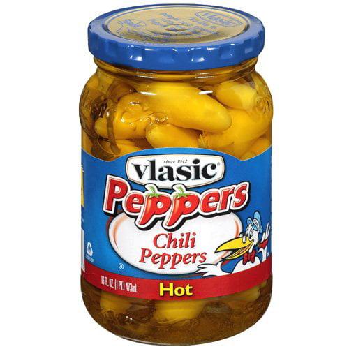 Vlasic: Hot Chili Peppers, 16 Fl Oz