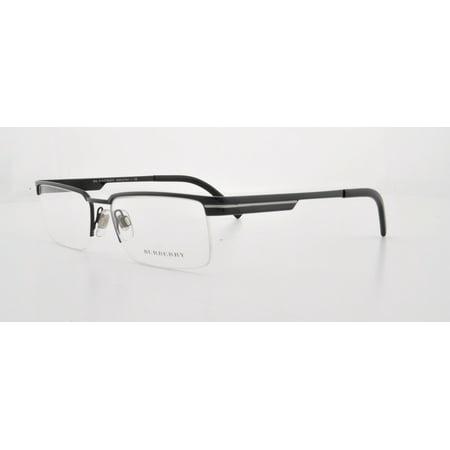 2d0575bc091d BURBERRY Eyeglasses BE 1170 1001 Black 53MM - Walmart.com