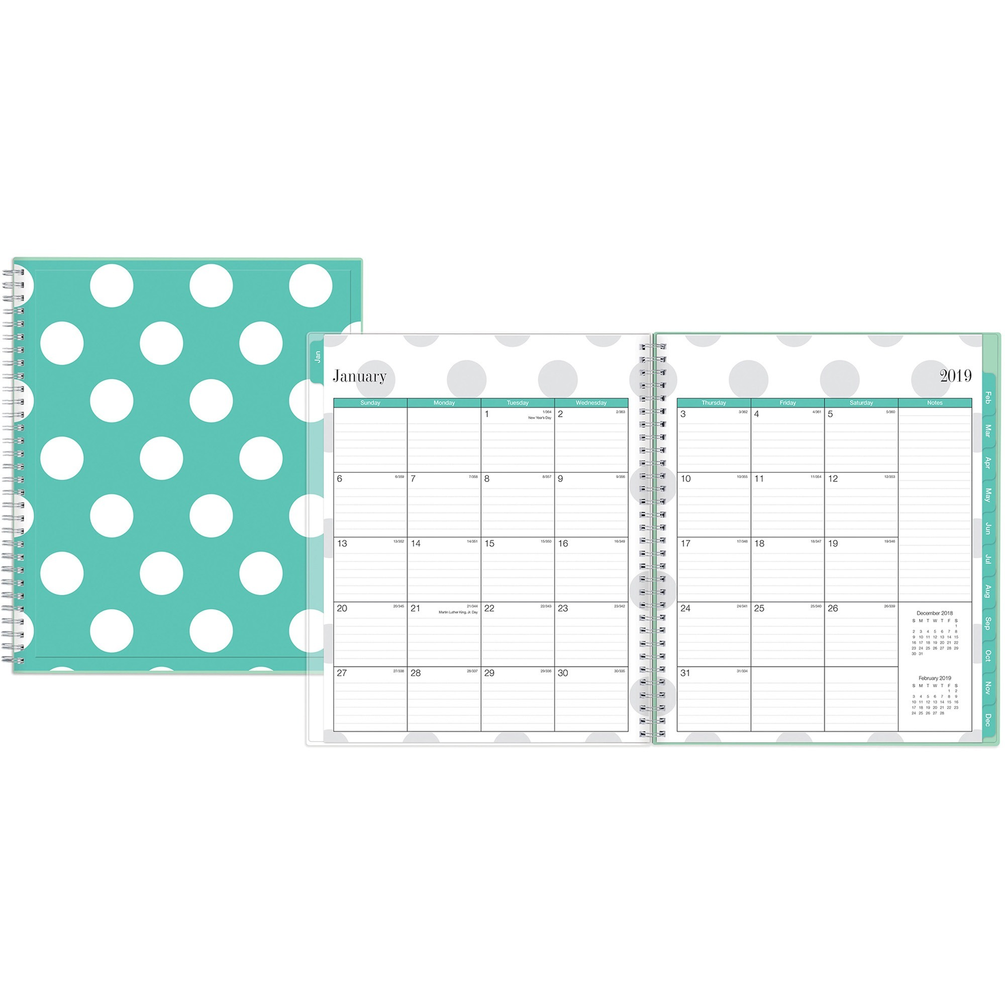 Blue Sky, BLS101563, Penelope Collection Monthly Planner, 1 Each, Multi