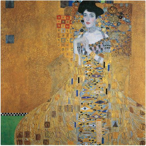 """Trademark Fine Art """"Portrait of Adele Bloch-Bauer I"""" Canvas Art by Gustav Klimt"""