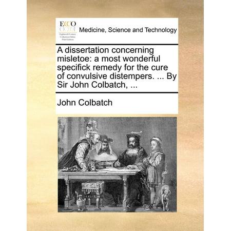 John w dolan phd thesis