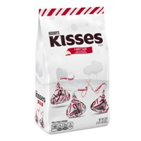 Kisses, Holiday Candy Cane Mint Candy, 33 Oz