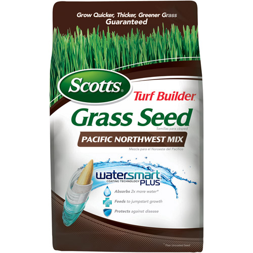 Scotts Turf Builder Grass Seed Pacific Northwest Mix, 3 lbs