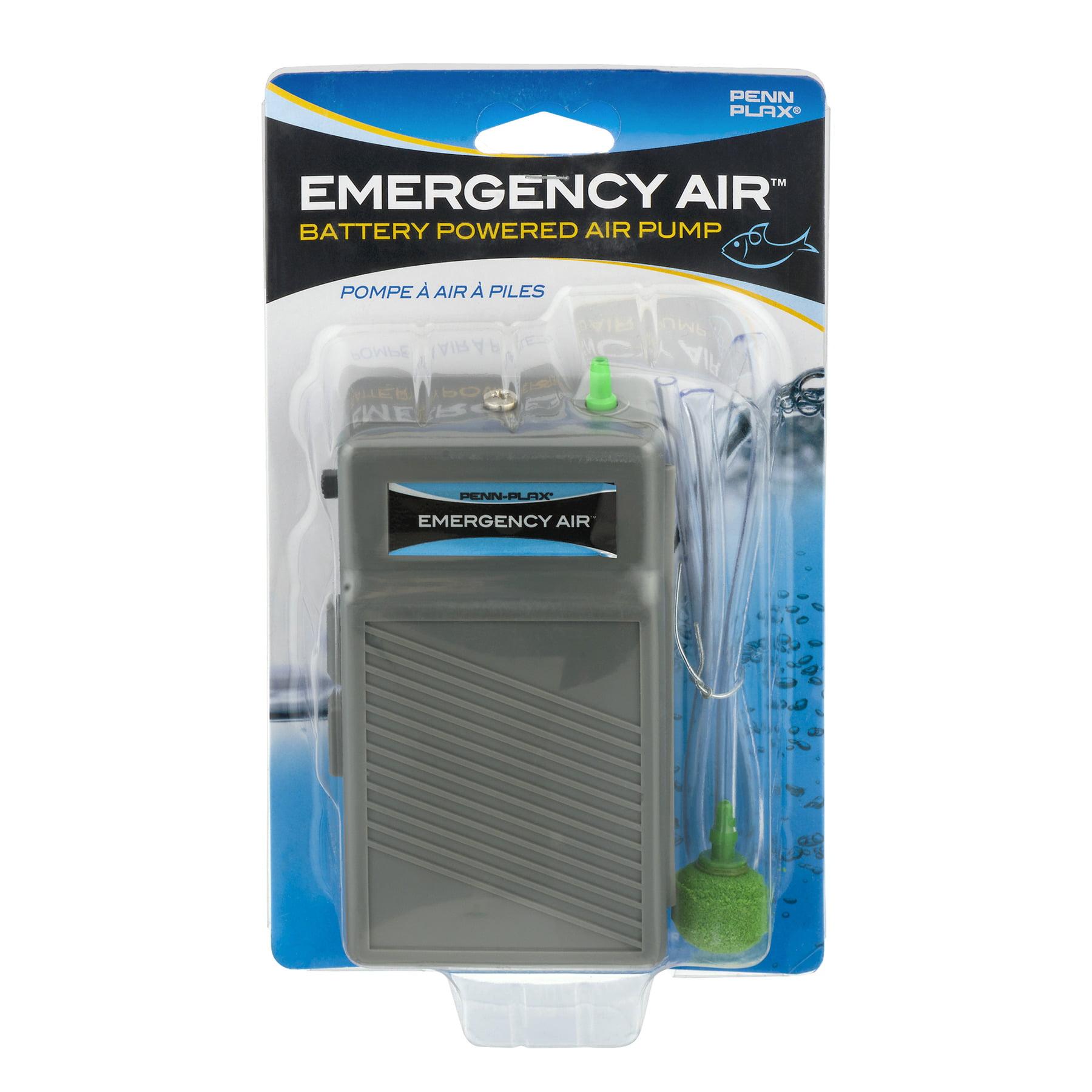Penn-Plax Emergency Air Battery Powered Air Pump, 1.0 CT