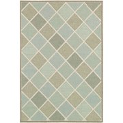 Couristan Afuera Country Cottage Rug Beige Ivory