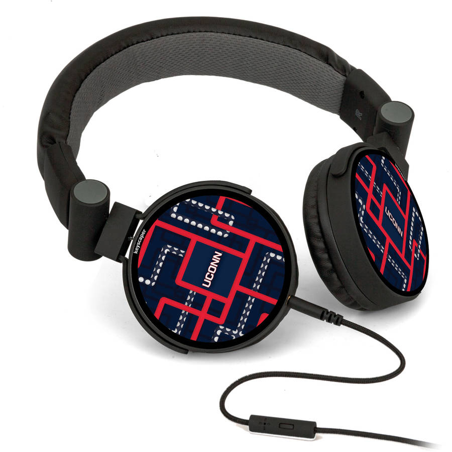 Connecticut Huskies DJ-Style Headphones