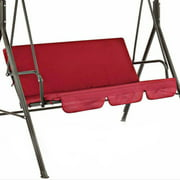 2021 Newest Outdoor Garden Courtyard Swing Seat Cover Waterproof Suspension Swing Chair Cover Garden Yard Chair Cushion red