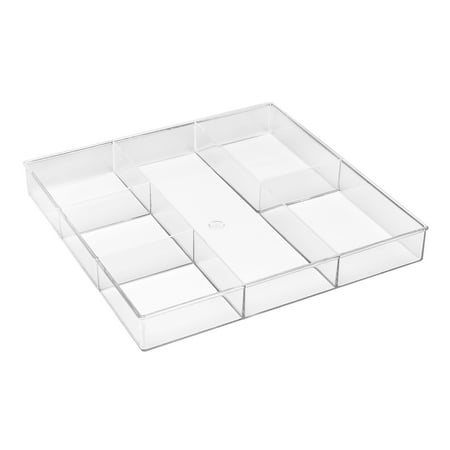 Whitmor 6789-3065 6 Section Clear Drawer