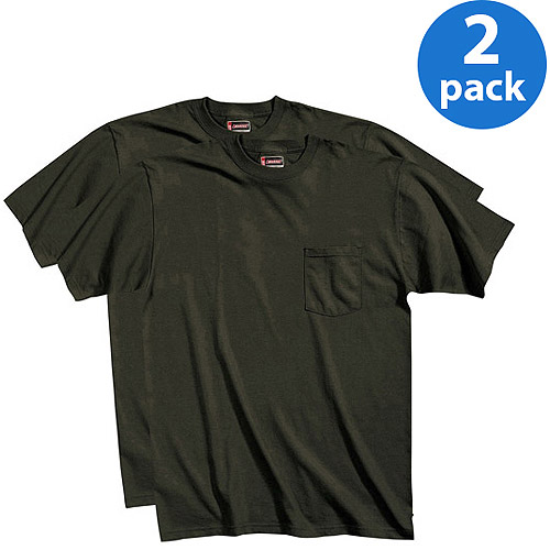 Dickies Big and Tall Men's Performance Pocket Tees, 2-Pack