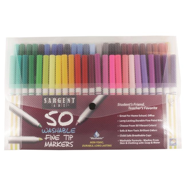 Sargent Art  SAR221581 Sargent Washable Markers, 50 Count