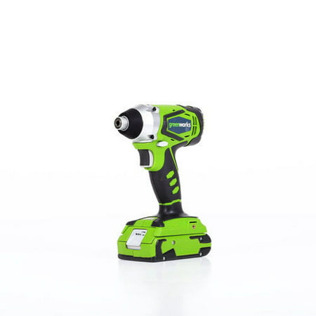 Greenworks 24V Cordless Impact Driver, 2.0 AH Battery Included (Best Cheap Impact Driver)