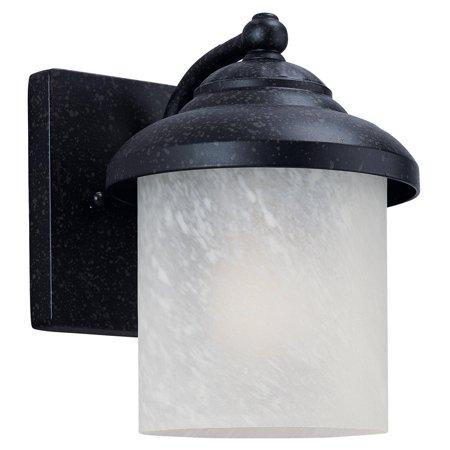 Sea Gull Yorktowne Outdoor Wall Lantern   8 25H In  Forged Iron
