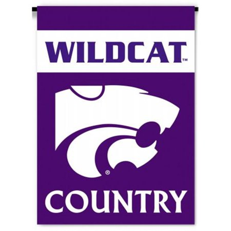 Kansas State Wildcats 2-Sided Country Garden Flag - image 1 of 1