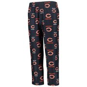 Chicago Bears Youth Team All Over Print Lounge Pants - Navy