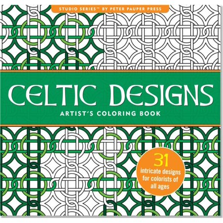 Celtic Designs Artist's Adult Coloring Book - All Halloween Coloring Pages