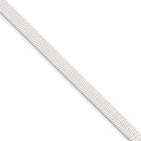 925 Sterling Silver 7mm Magic Herringbone Bracelet 8inch