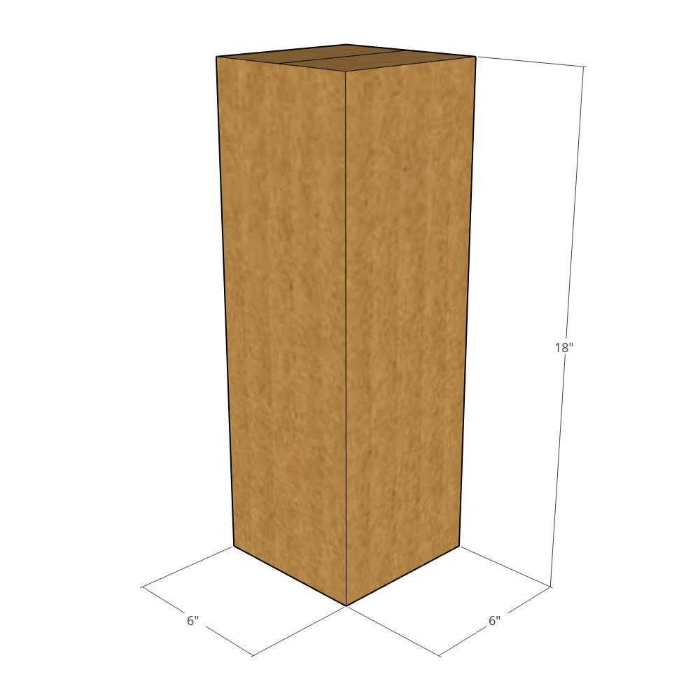 New for Moving or Shipping Needs 6x6x8-32 ECT Corrugated Boxes