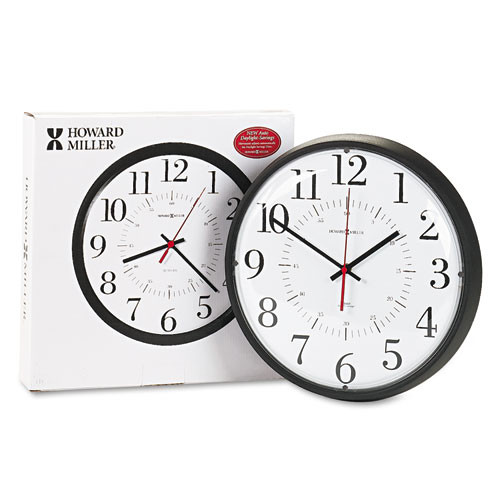 Howard Miller 625-323: Alton Auto Daylight Savings Wall Clock by Howard Miller