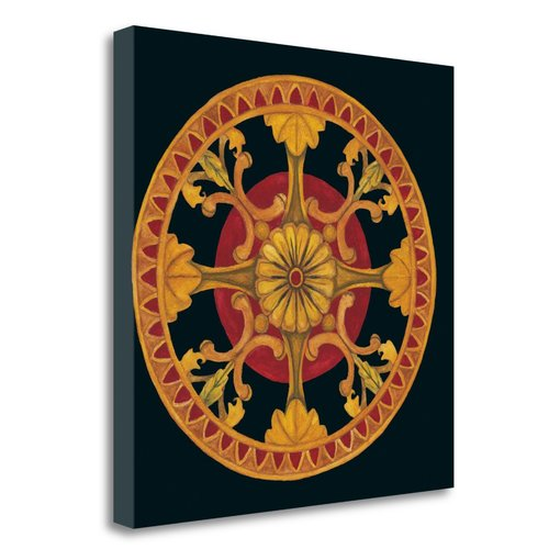 Tangletown Fine Art 'Rosette III' by Lee Anderson  Graphic Art on Wrapped Canvas