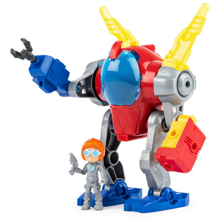 Rusty Rivets, Mechsuit, Snap ?n? Build Construction with Lights, Sounds, and Rusty Figure, for Ages 3 and Up