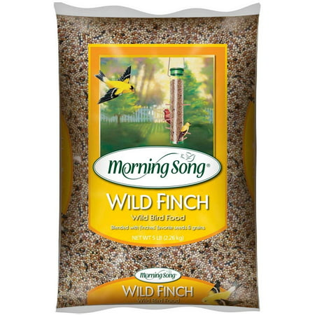 Morning Song Wild Finch Food, 5-lb Bag